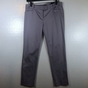 The Limited Size 6 New Purple Ankle Pencil Pants